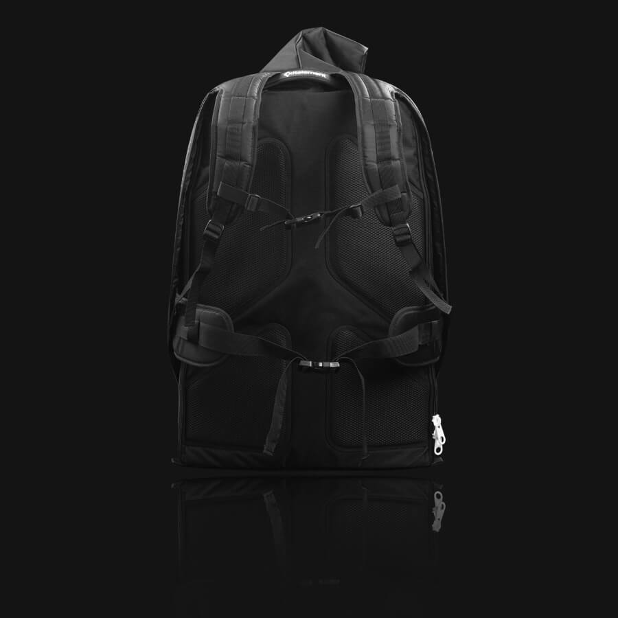 repack split kiteboard backpack comfort