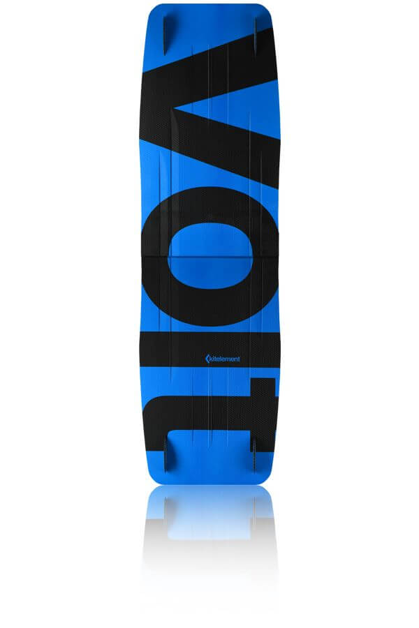 kitelement - split kiteboard - re volt blue